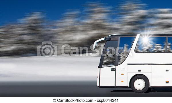 tourist bus  - csp8044341