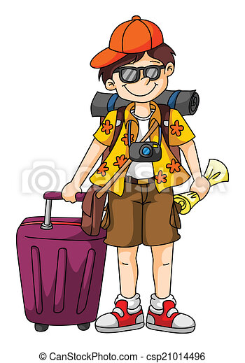 Tourist - csp21014496