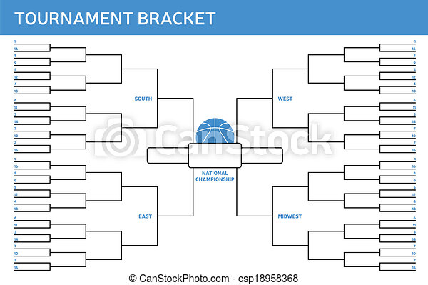Tournament Bracket - csp18958368