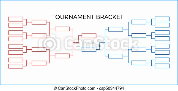 Tournament Bracket - csp50344794