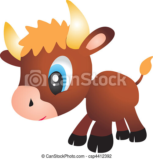 touro, vetorial - csp4412392