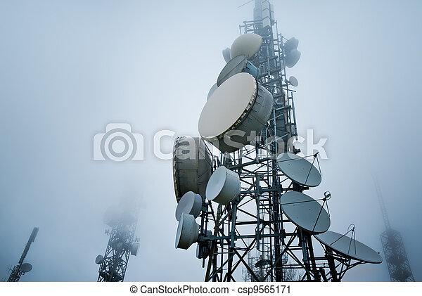 tours, télécommunications - csp9565171