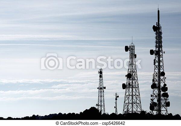 tours, télécommunications - csp5426642