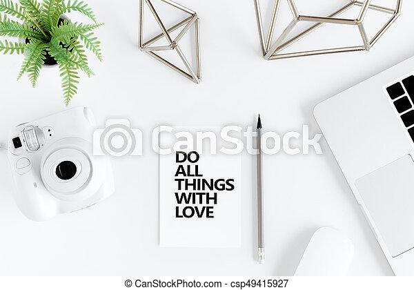 Tout Amour Choses Sommet Motivation Appareil Photo