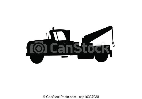 tow truck - csp16337038