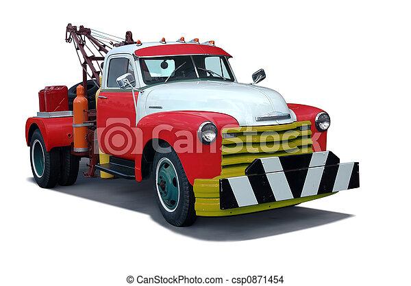 Tow Truck - csp0871454
