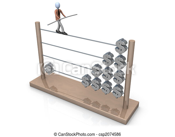 Towards A Bigger Income - csp2074586