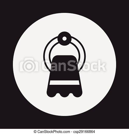 towel icon - csp29166864