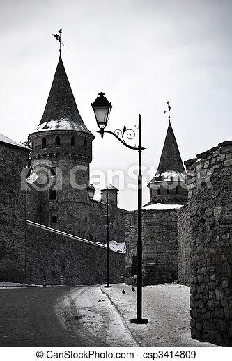 Tower and lantern - csp3414809