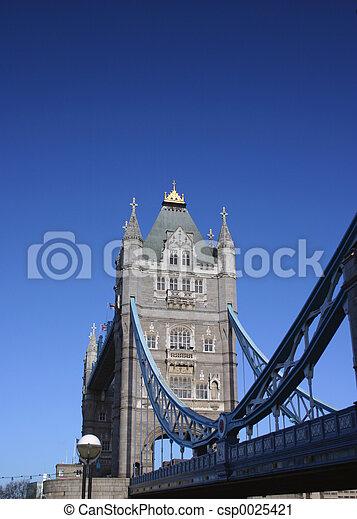 Tower Bridge London - csp0025421