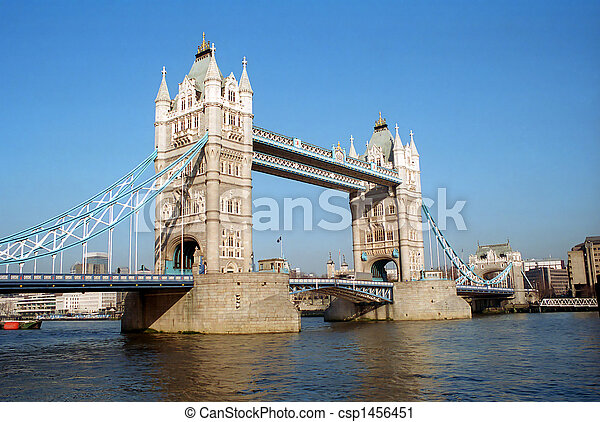 Tower bridge, London. - csp1456451