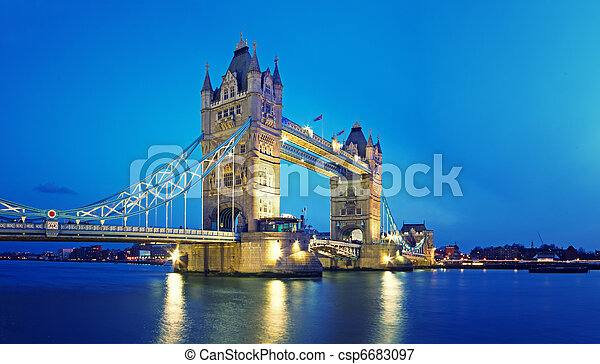 Tower Bridge, London. - csp6683097