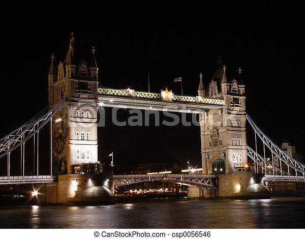 Tower Bridge, London - csp0056546