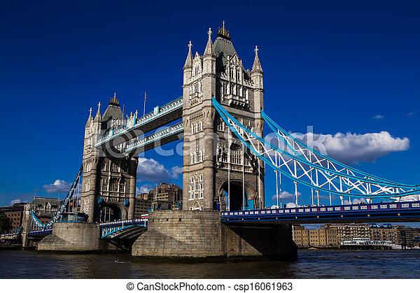 Tower Bridge London - csp16061963