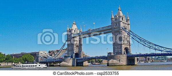 Tower Bridge, London. - csp2533755