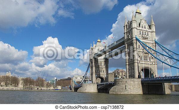Tower bridge London - csp7138872