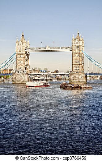 Tower Bridge, London - csp3766459