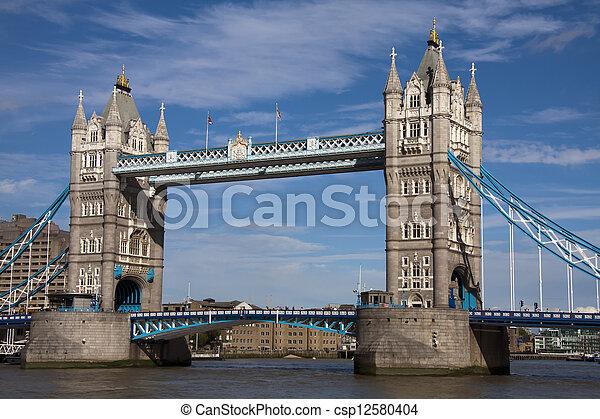Tower Bridge, London - csp12580404