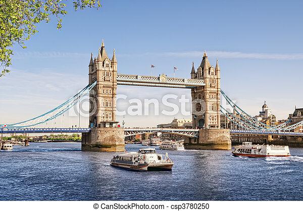 Tower Bridge, London - csp3780250