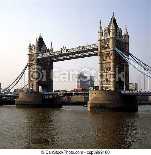 Tower Bridge, London - csp3999160