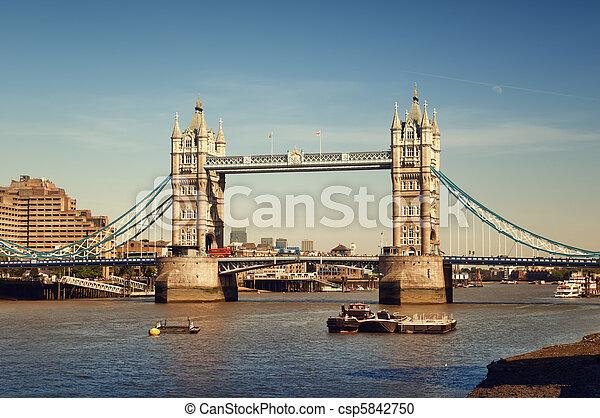 Tower Bridge, London - csp5842750