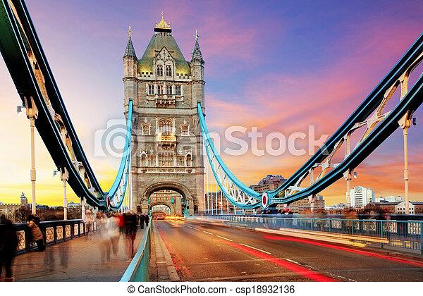 Tower bridge - London - csp18932136