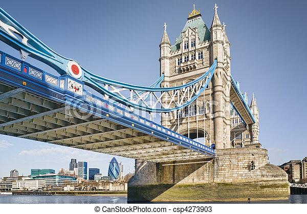 Tower Bridge, London. - csp4273903