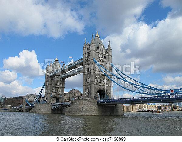 Tower bridge London - csp7138893