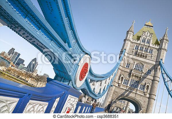 Tower Bridge - csp3688351
