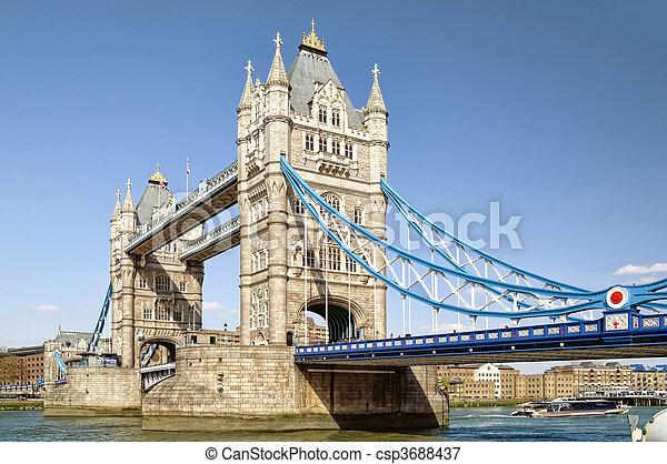 Tower Bridge. - csp3688437
