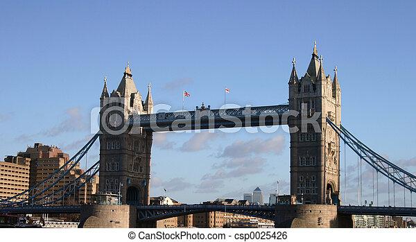 Tower Bridge - csp0025426