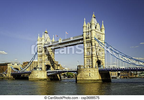 Tower Bridge . - csp3688575