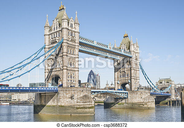 Tower Bridge. - csp3688372