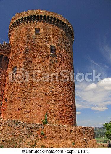 Tower, Castelnau Castle - csp3161815