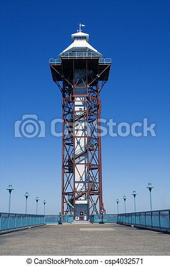 Tower in Erie - csp4032571