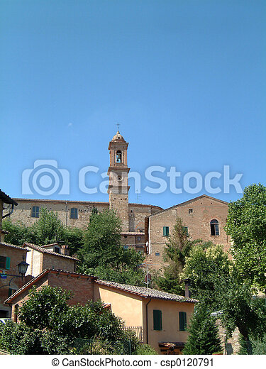 Tower in Tuscany - csp0120791