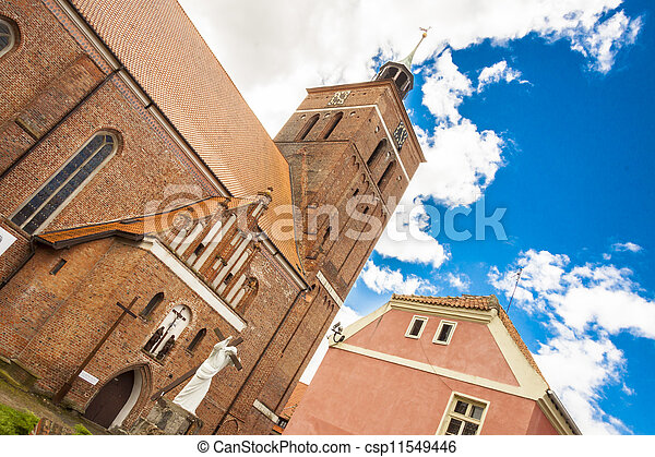 Tower of Church in Reszel - Poland. - csp11549446