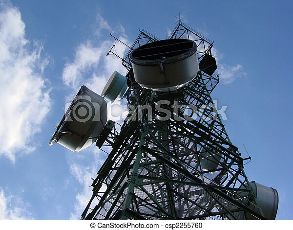 Tower of communications - csp2255760