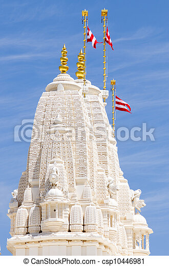 Tower of Hindu temple - csp10446981