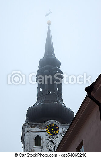 Tower of St. Marys Cathedral - csp54065246