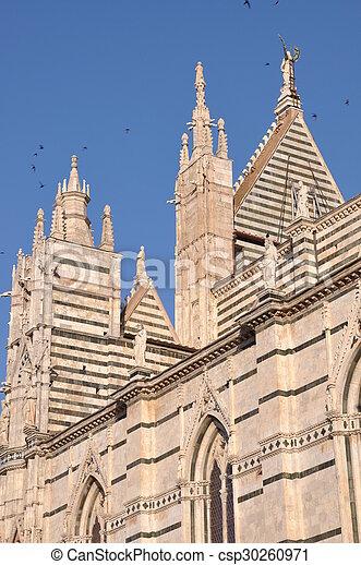 Towers of Santa Maria Cathedral - csp30260971