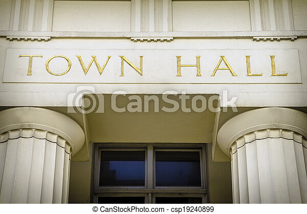 Town hall - csp19240899