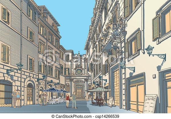 Town Square - csp14266539