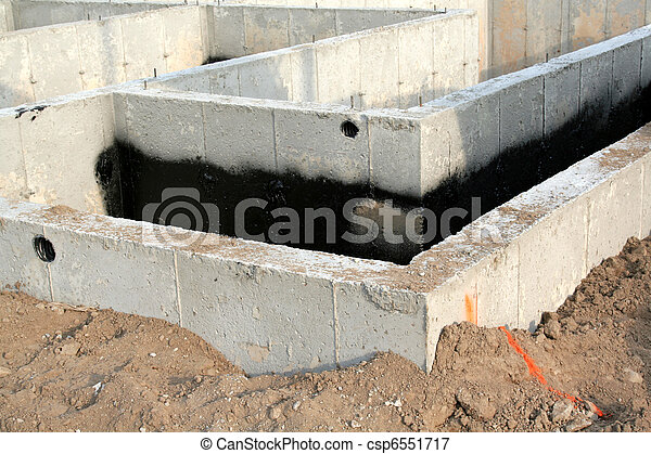 Townhouse Foundation - csp6551717