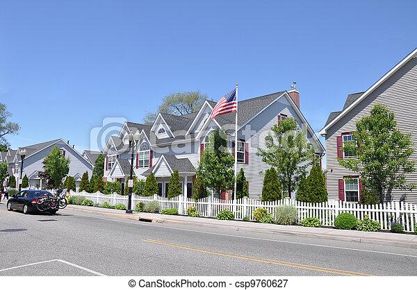 Townhouses - csp9760627
