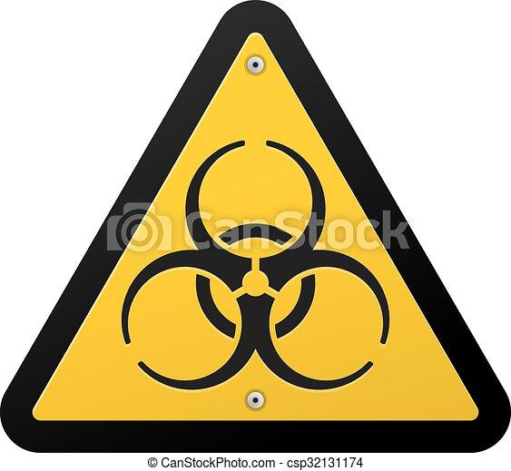 toxic hazard dangerous biohazard virus symbol in yellow vectors rh canstockphoto com toxicology toxic logo images