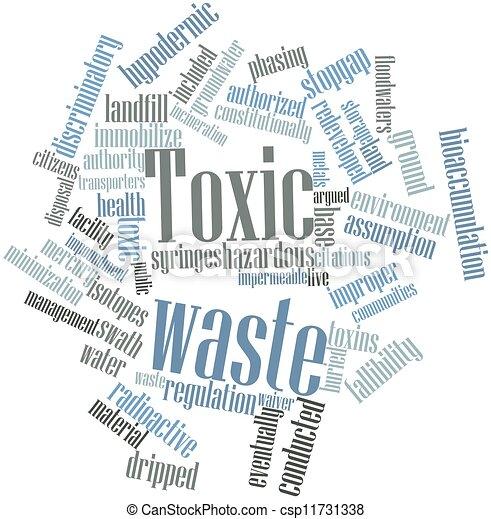 Toxic waste - csp11731338