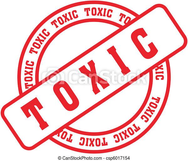 toxic word stamp3 - csp6017154