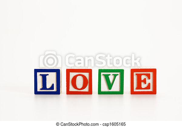 Toy alphabet blocks. - csp1605165
