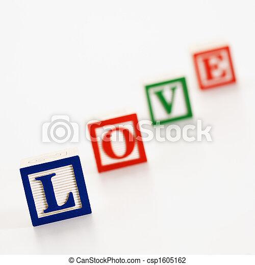 Toy alphabet blocks. - csp1605162